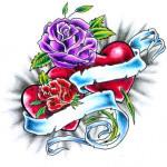 Rose-en-mousse