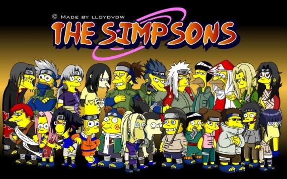 Naruto Simpsons