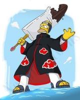 Simpsons Kisahomer (naruto)