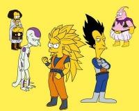 Simpsons en mode DBZ