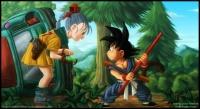 Goku & bulma