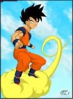 Goku by Oubaida