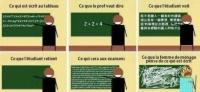 La réalité des cours