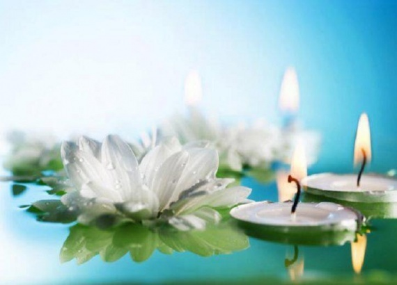 bougies-nenuphar