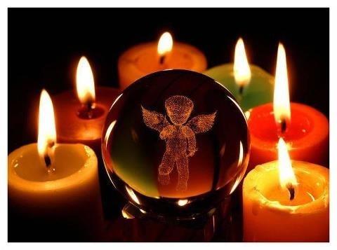 bougies-boule-ange