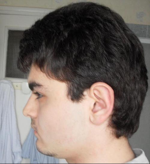 Coupe de cheveux transition court long homme