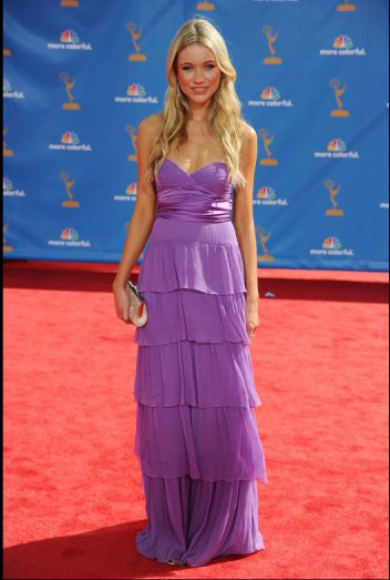 katrina bowden max azria. Katrina Bowden in BCBG Max