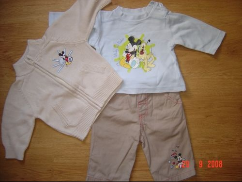 ENS.3 PIECES DISNEY