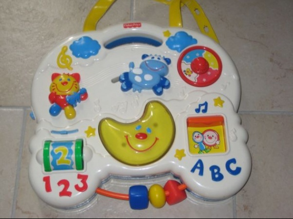 TABLEAU EVEIL FISHER PRICE