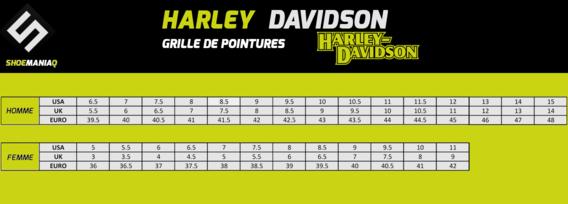 HARLEY DAVIDSON POINTURE HOMME FEMME