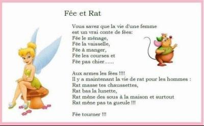 fée et rat