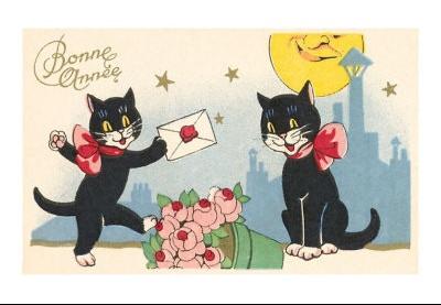 Bonne année chat