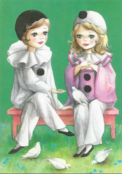 Pierrot et Colombine1