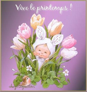 vive le printemps tulipes