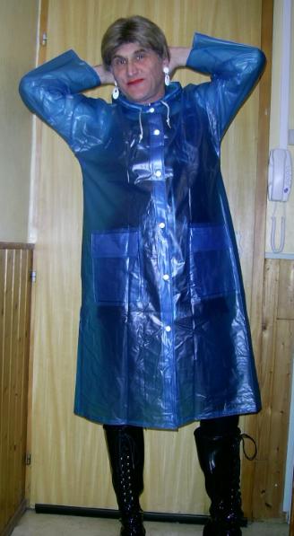 Ciré bleu.