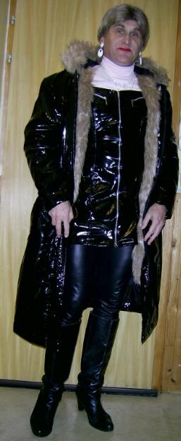 Manteau vinyle.