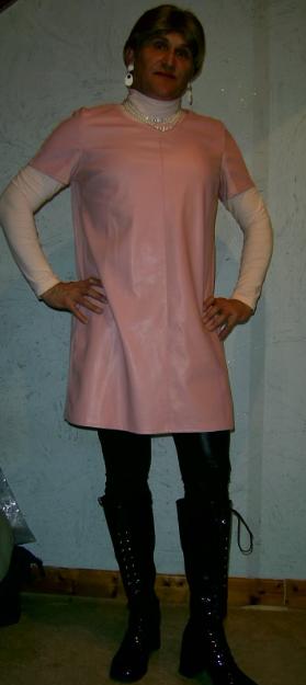 Robe rose KIABI.
