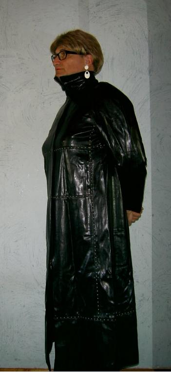 Manteau long.
