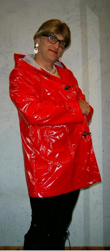 Ciré Asos rouge.