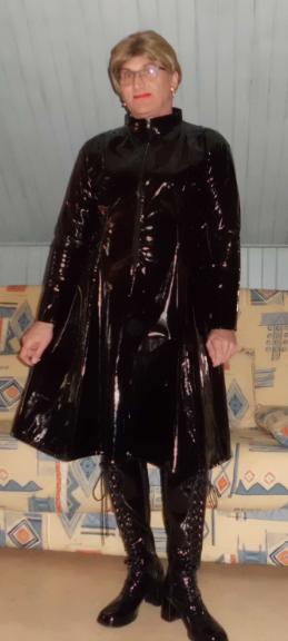 Robe vinyle.