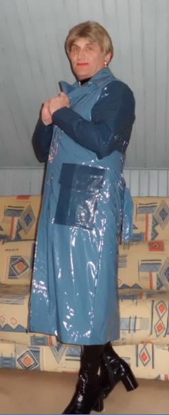 Ciré bleu Rains.