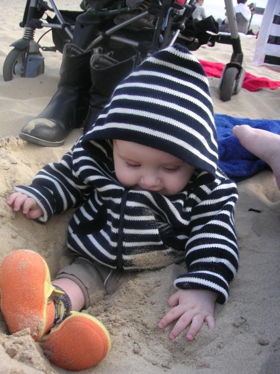 Gwénaëlle Diwan à la plage Quiberon le 16 04 2011 032