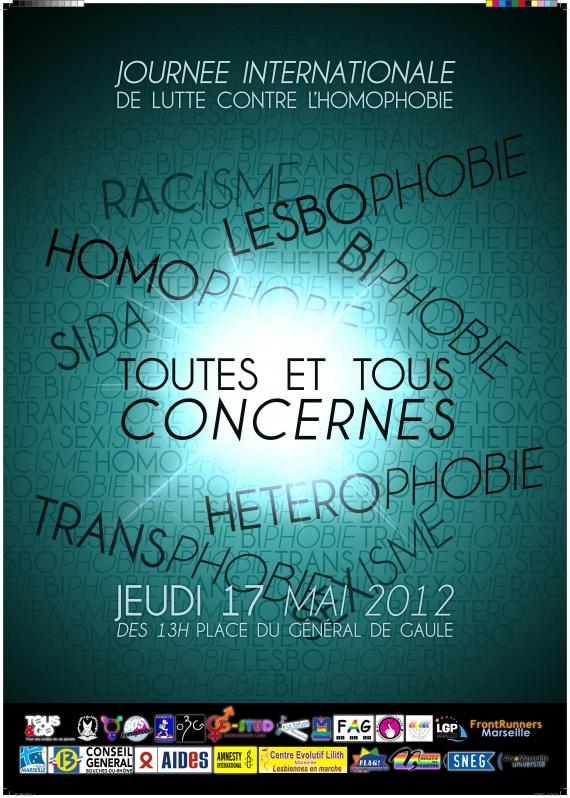 Journée de Lutte Internationale Contre L'homophie