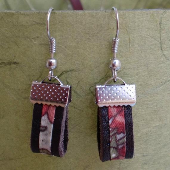 bijoux cuir et liberty