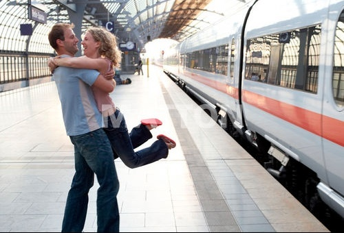 Retour en train