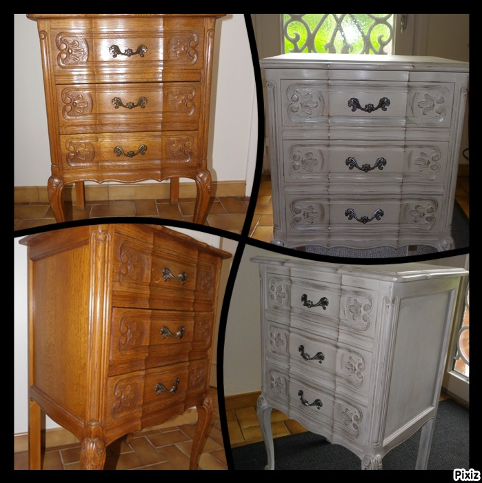 commode avant apres meuble la clairiere photos. Black Bedroom Furniture Sets. Home Design Ideas