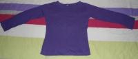 tee shirt violet 5ans