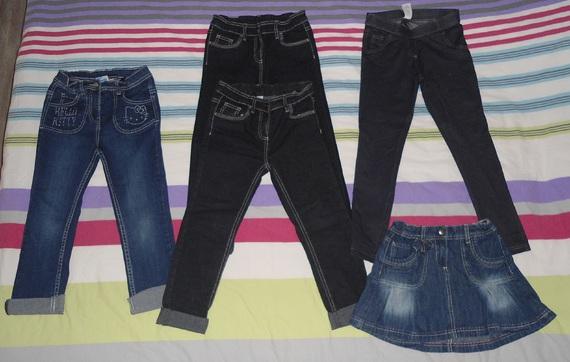 bas en jean 8ans