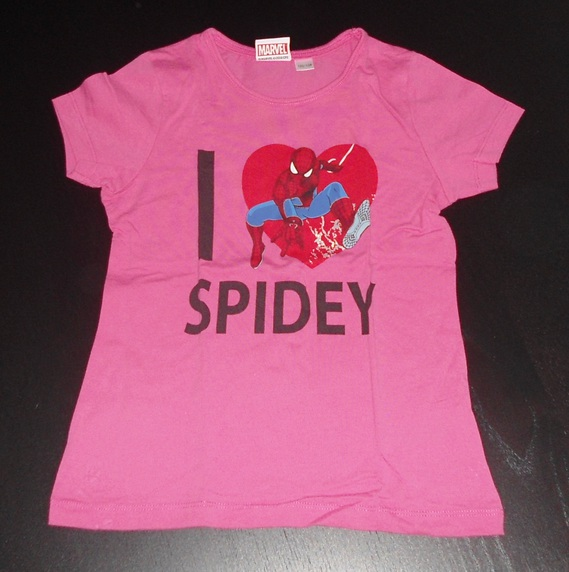 spiderman 7-8ans