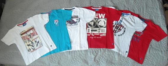scott & fox lot 10 ans-vue tee shirts