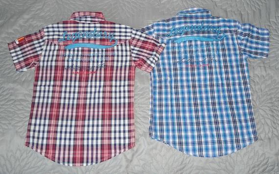 scott & fox lot 10 ans-vue chemises dos