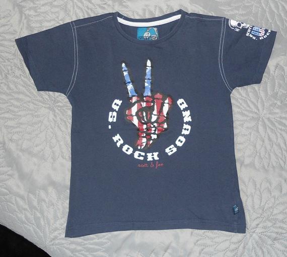 scott & fox lot 10 ans tee shirt oublié sur photo du lot