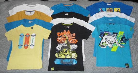 lot 10 ans tee shirts