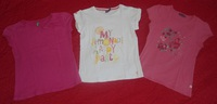 lot tee shirts 8 ans manches courtes-vue6