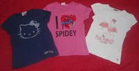 lot tee shirts 8 ans manches courtes-vue5