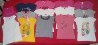 lot tee shirts 8 ans manches courtes