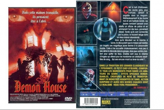 DVD DEMON HOUSE 1,50E
