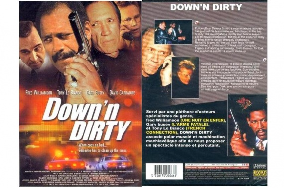 DVD DOWN'DIRTY 1,50E