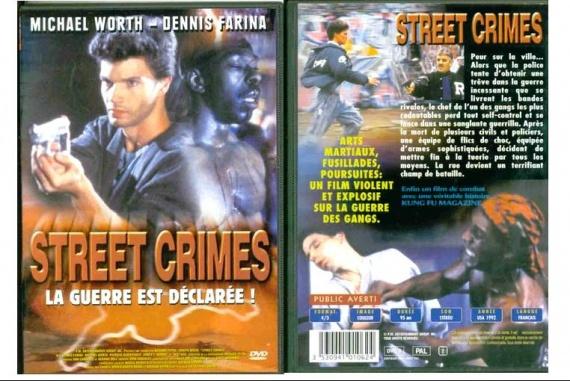 DVD STREET CRIMES 1,50E