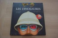LIVRE LES DINOSAURES + LUNETTE 3D 5E