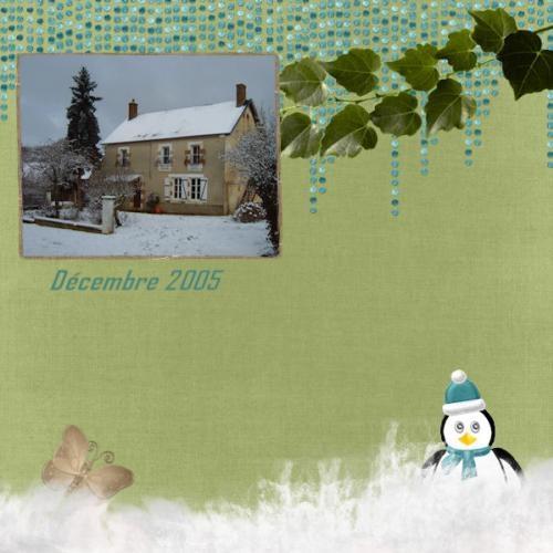 2005 neige maison