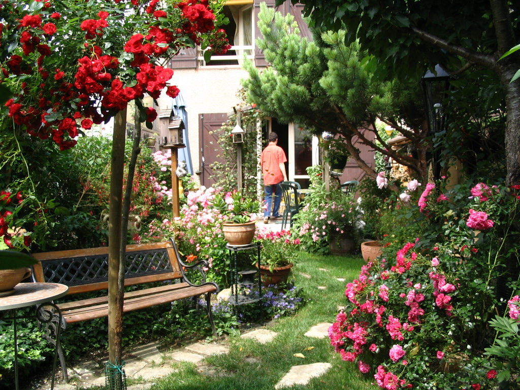 mon petit jardin, créé de toutes pièces par moi - popiette ...