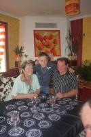 les futurs arrière grand parents avec mon pti frere