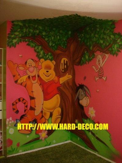 Pour les fans de winnie l 39 ourson chambre mixte for Deco winnie l ourson pour chambre