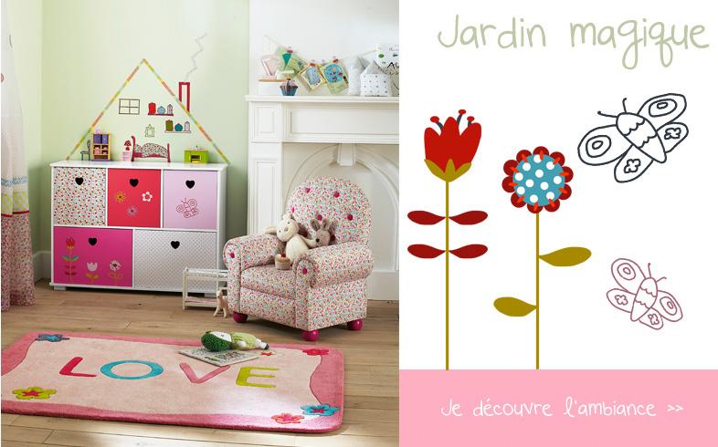 Stickers maison chez vertbaudet chambre fille for Chambre enfant verbaudet