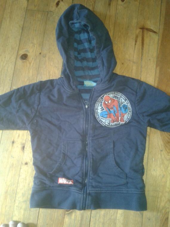 gillet spidermann : 5 euro